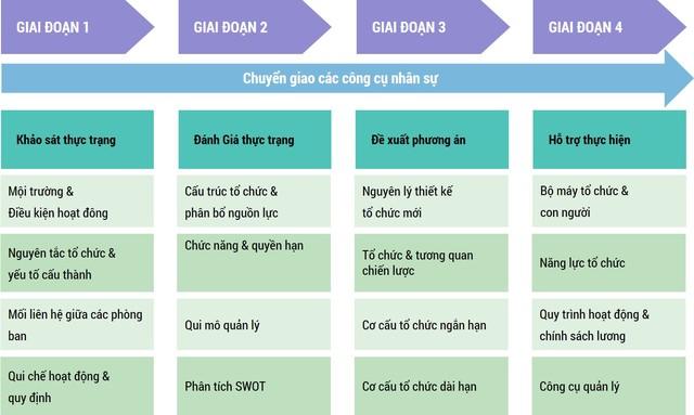 tái cấu trúc doanh  nghiệp Việt