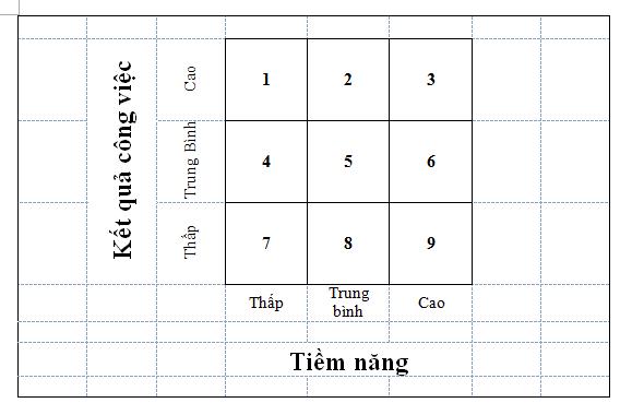 Ma trận phân loại nhân viên