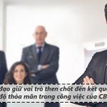 Mối quan hệ giữa uy tín lãnh đạo, mức độ thỏa mãn trong công việc và gắn kết đối với tổ chức của nhân viên