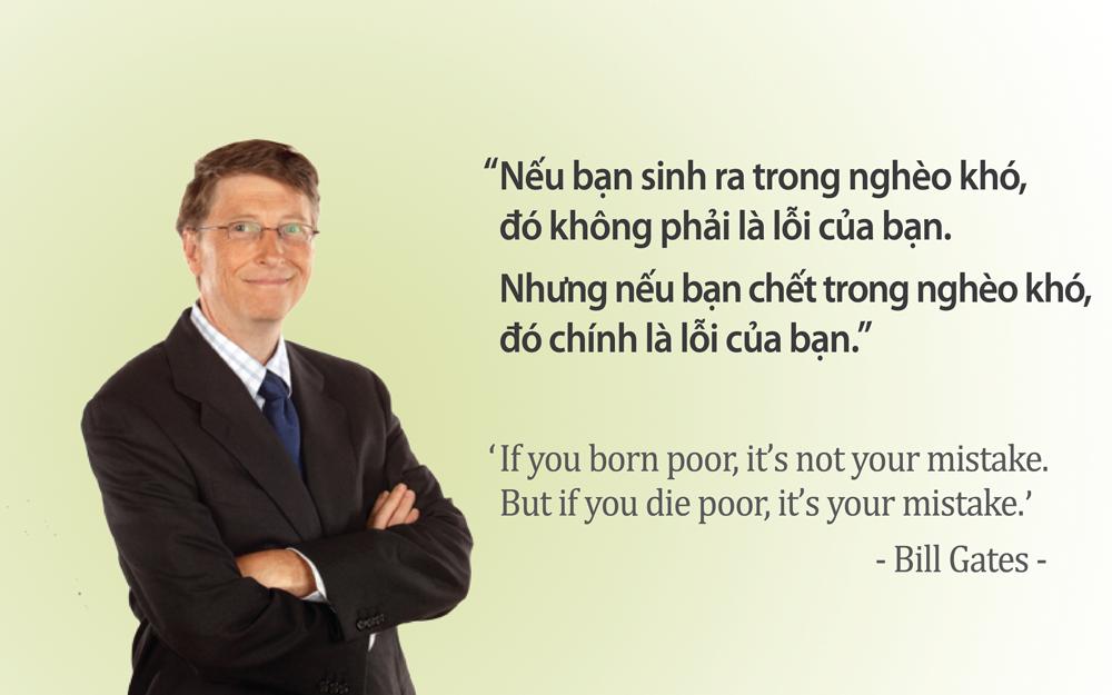 10 lời khuyên của Bill Gates