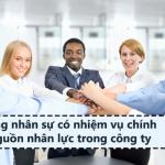 Công việc, trách nhiệm của trưởng phòng nhân sự
