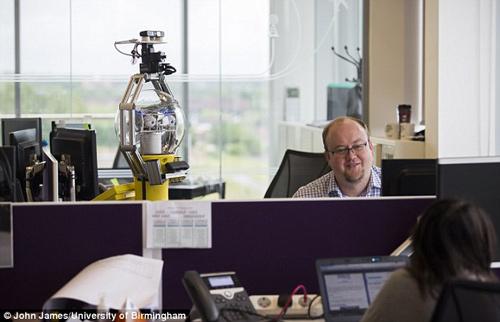 Robot quản lý giám sát văn phòng